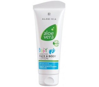 Детский лосьон для лица и тела для чувствительной кожи Aloe Vera Baby