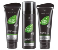 Набор средств по уходу за мужской кожей №2 Aloe Vera