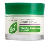 Регенирирующий ночной крем для лица Алоэ Вера