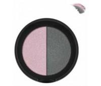 Двухцветные минеральные тени для век Роза и графит LR Colours