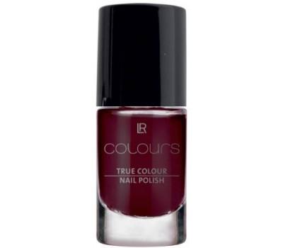 Лак для ногтей Истинный цвет Бордовая вишня LR Colours