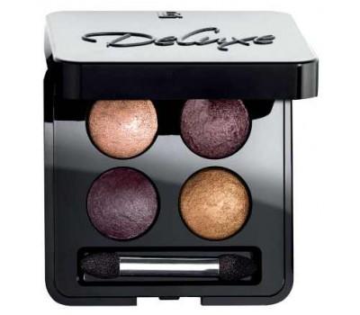 Четырехцветные тени для век Артистик Фиолетовый шик LR Deluxe