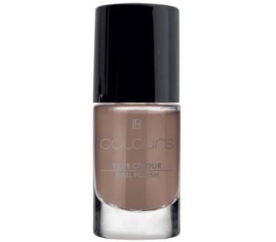 LR COLOURS Лак для ногтей «Истинный цвет» Коричневый трюфель