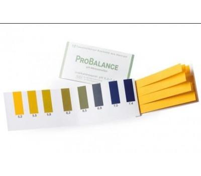 Тест-полоски для определения pH (12 полосок)